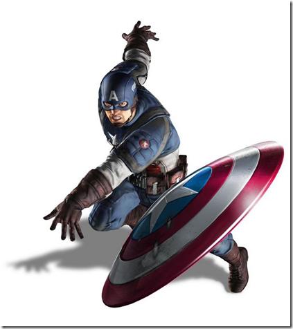 美国队长。
