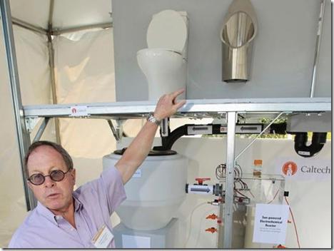 比尔·盖茨送给世界的8个厕所