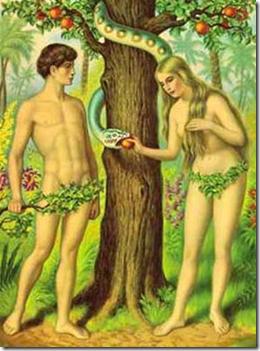 亚当和夏娃没有见过面